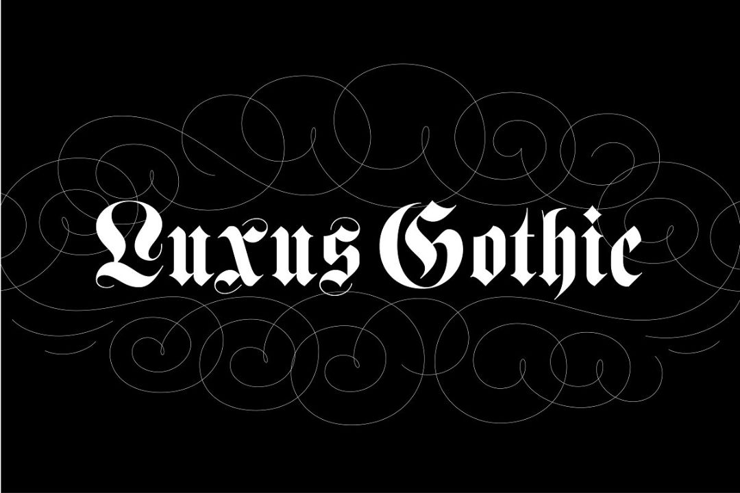Luxus Gothic Style Font