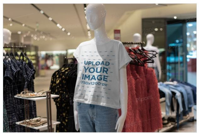 Mannequin Mockup for T Shirt Branding