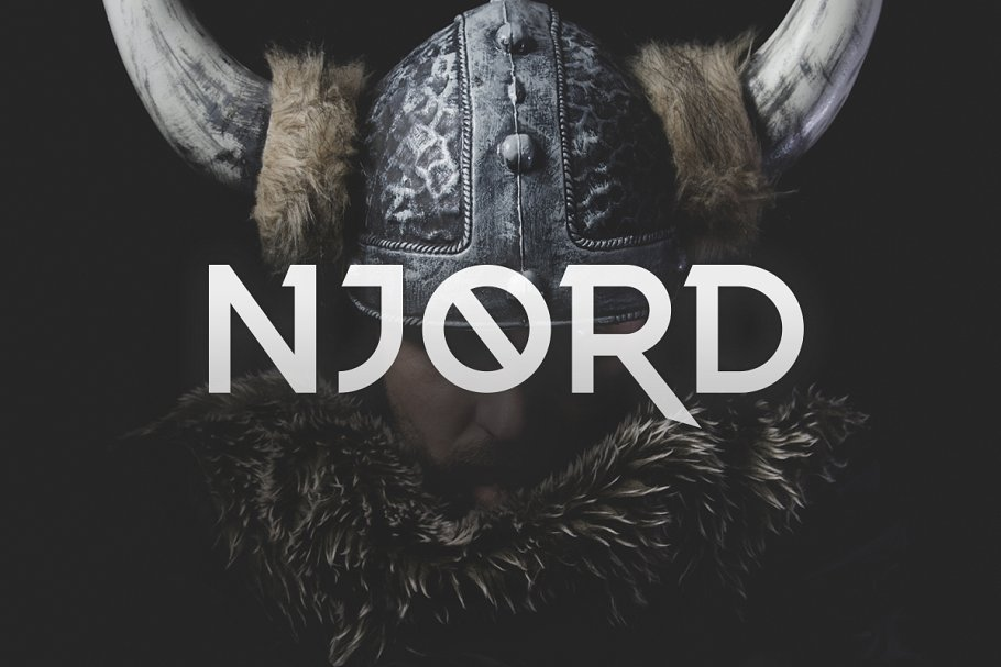 Minimal Njord Fonts TTF
