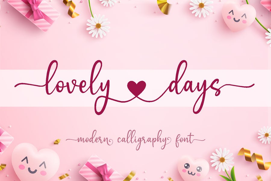 Modern Romantic Calligraphy Fonts