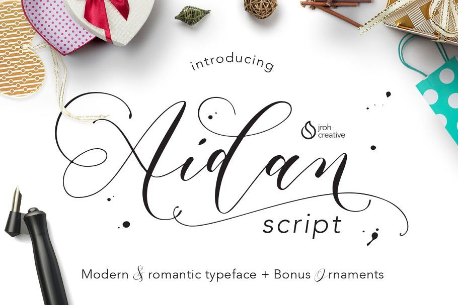 Modern Romantic and Calligraphy Fonts
