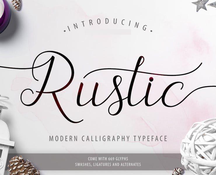 20+ Best Rustic Fonts for Logo Designing