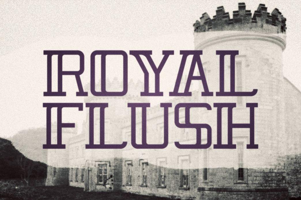 Monoline Royal Fonts