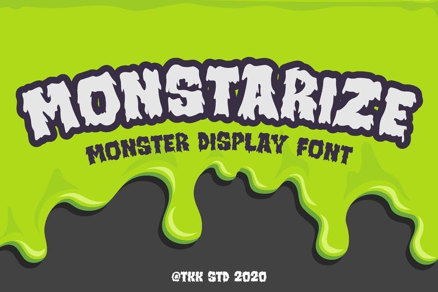 Monster Display Font