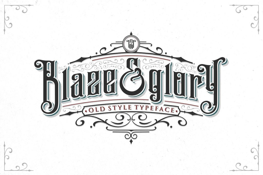 Old Style Tattoo fonts