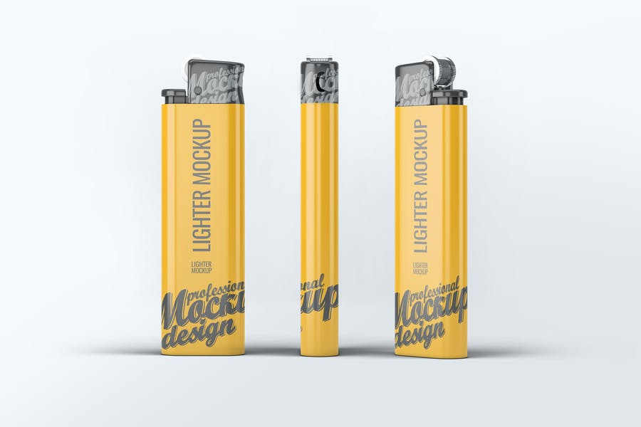 Photo Realistic Lighter Mockup
