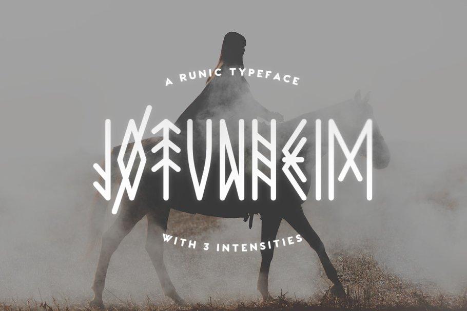 Retro Viking Fonts Download