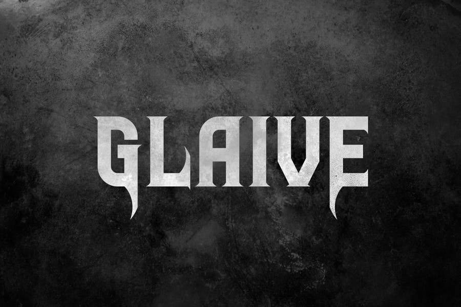 Rock Metal Music Album Font