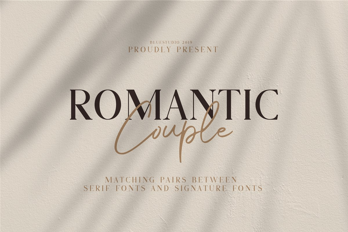 Romatic Font Duo Download