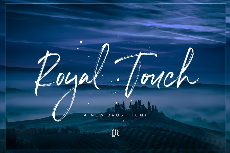 Royal Touch Brush Font
