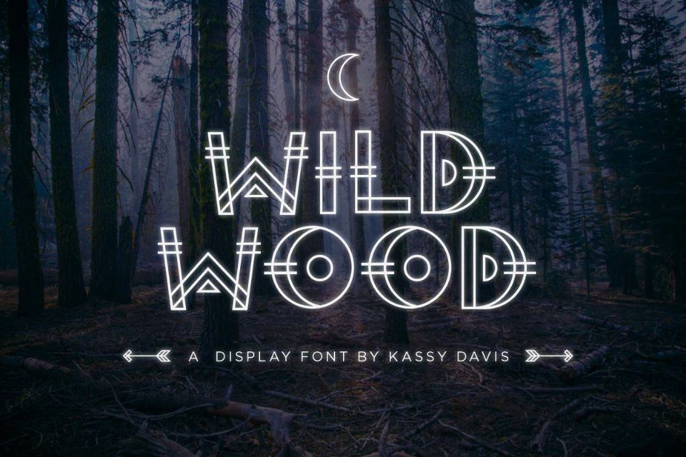 Spooky Wild Wood Font
