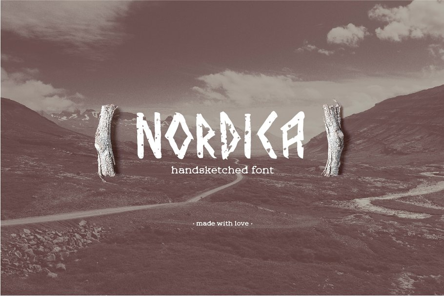 Strong Nordic Brush Fonts