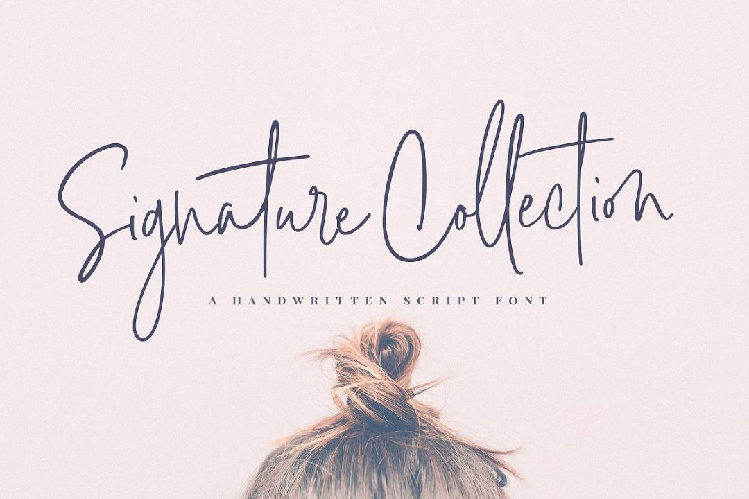 Stylish Signature Fonts