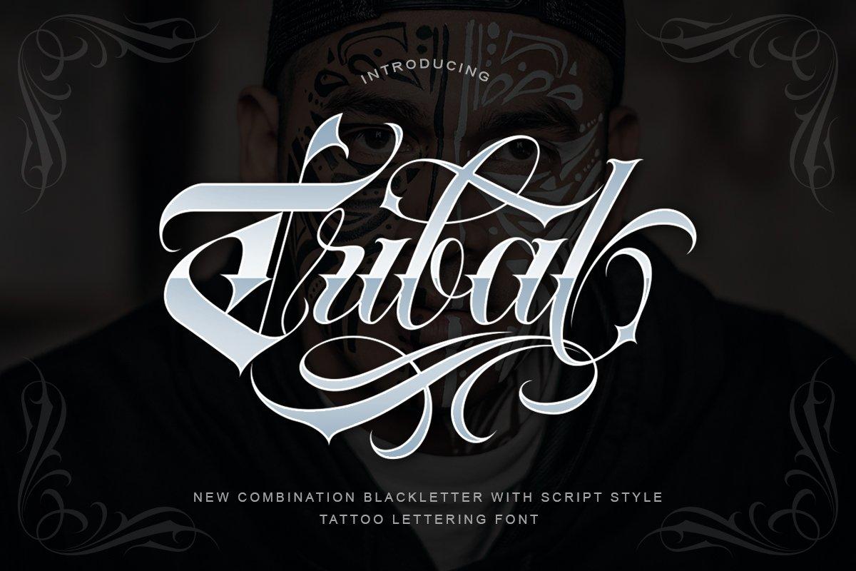Tribal Tattoo Fonts
