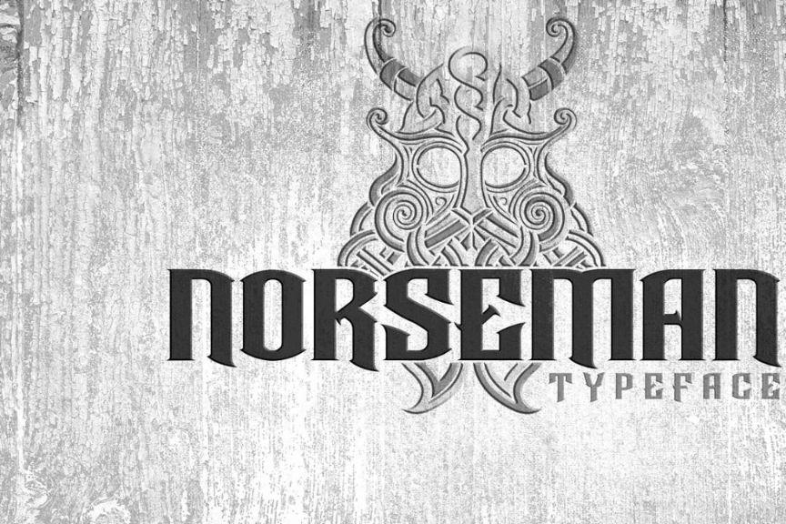 Viking Warrior Typeface Fonts