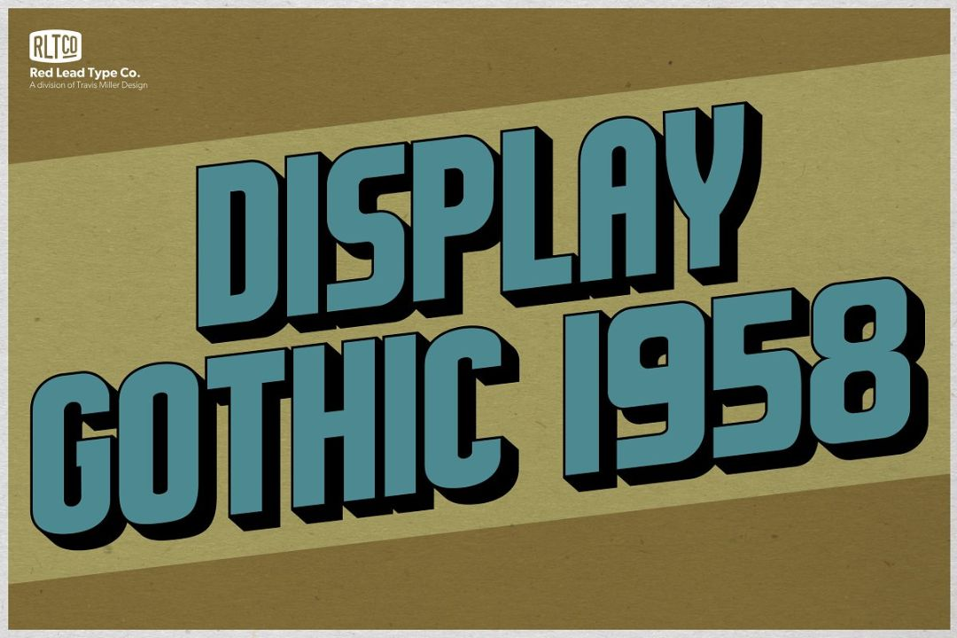 Vintage Gothic Style Fonts