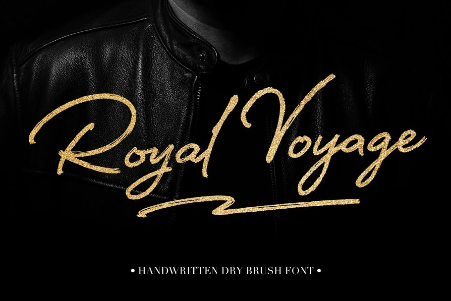 Vintage Royal Voyage Lettering Font