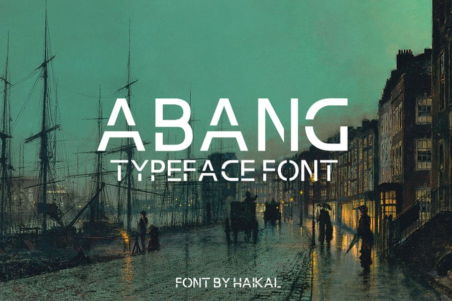 Clean and Simple Typeface Fonts
