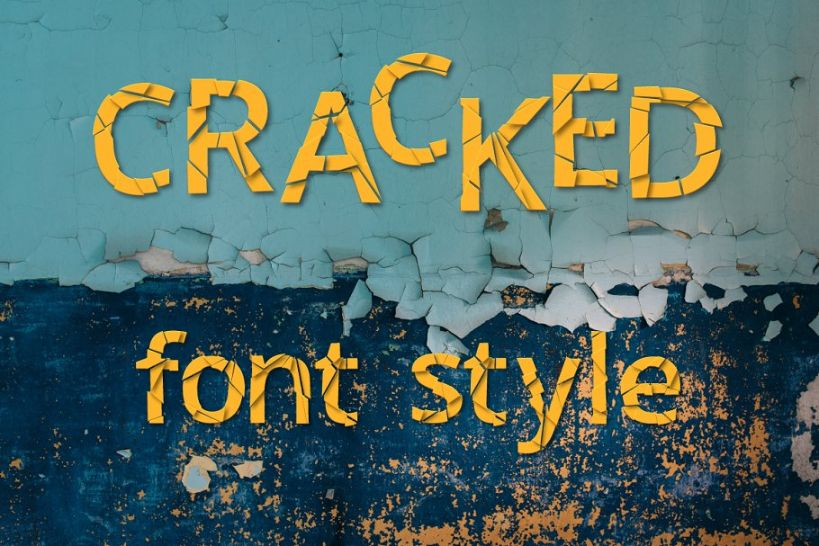 Best Cracked Font Style