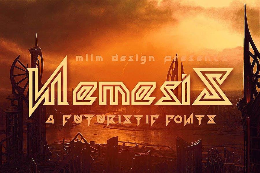 Best Grunge Futuristic Fonts