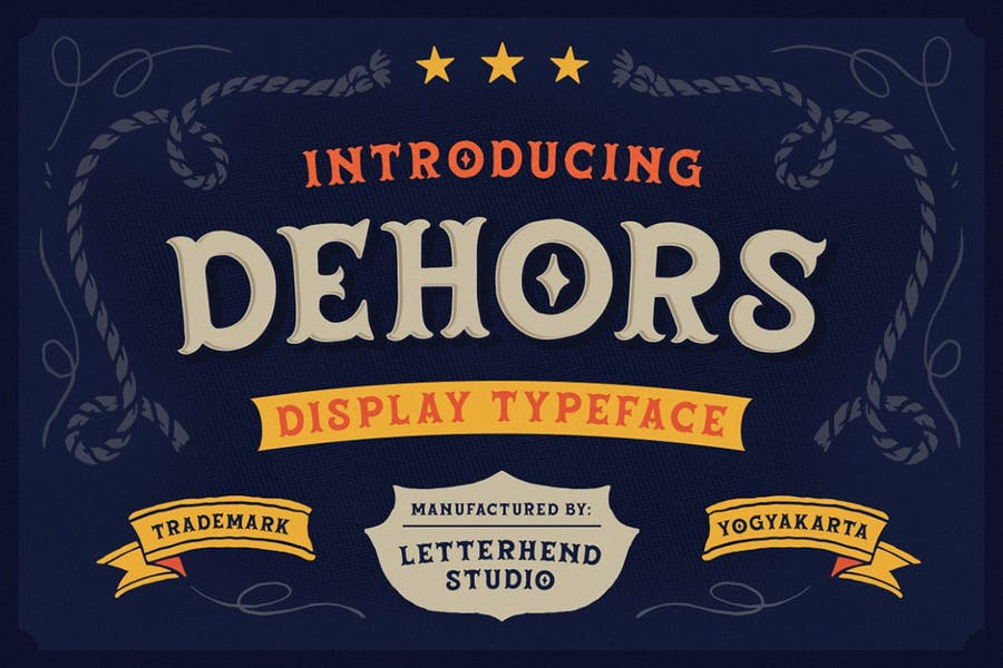Best Western Display Typeface