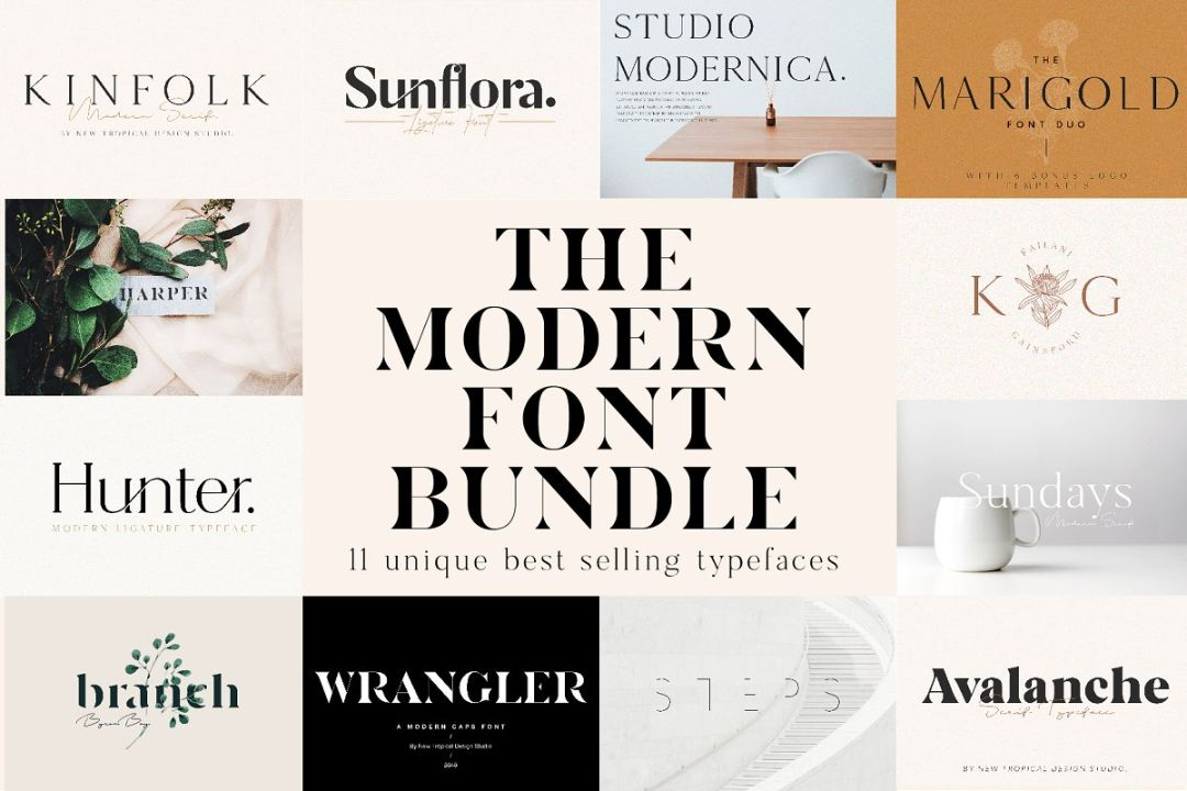 Chic and Unique Modern Feminine Font