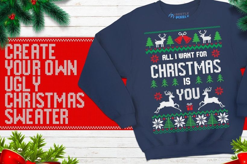 Christmas Knitted Fonts