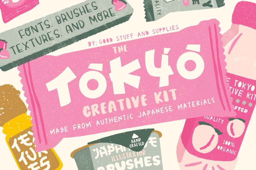 Creative Tokyo Font Kit
