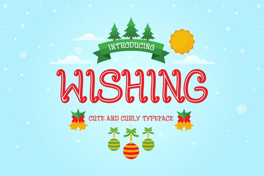 Cute and Curly Christmas Fonts