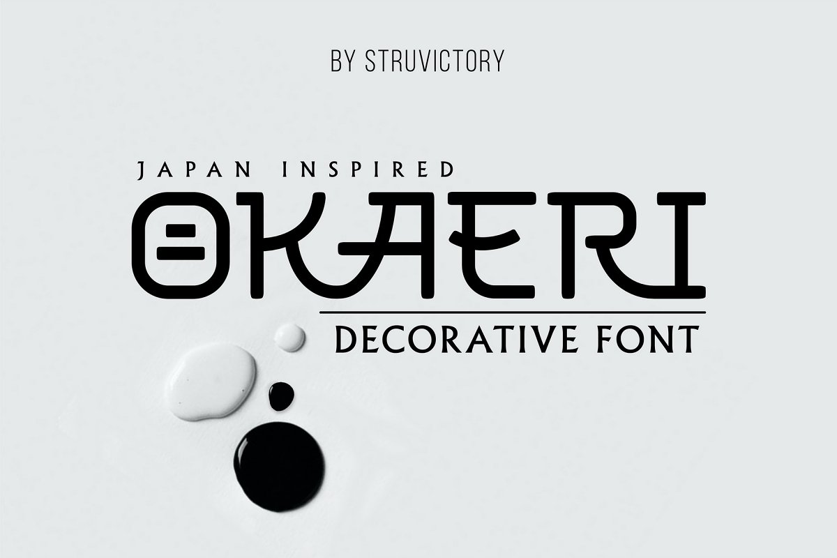 Decorative Tokyo Branding Font
