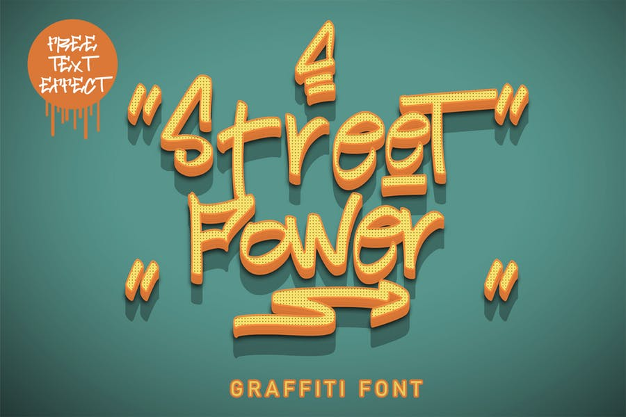 Drop Shadow Street Font