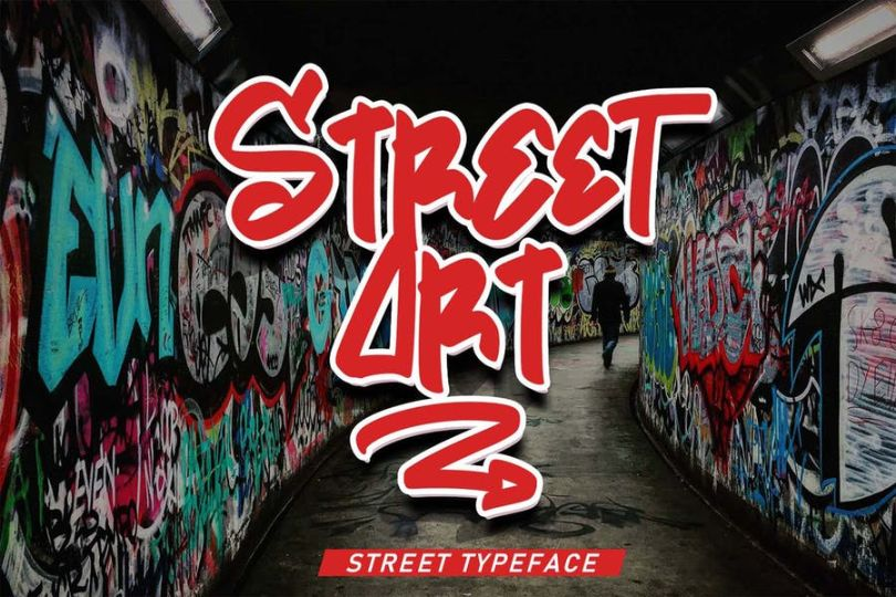 Freestyle Street Art Fonts