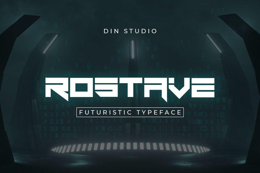 Futuristic Designer Typeface