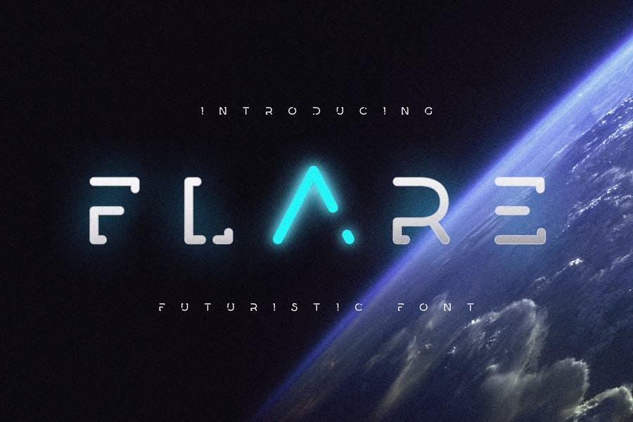 Futuristic Font for Movie Titles