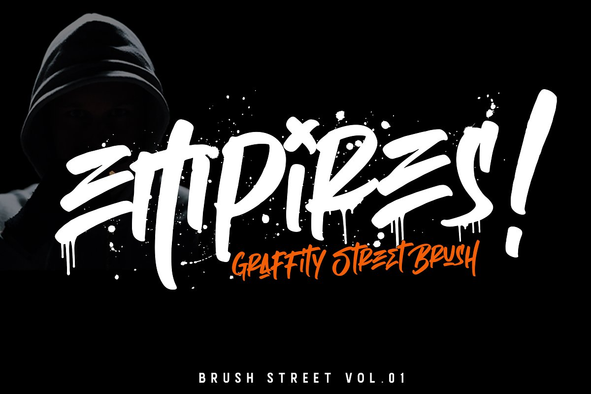 Graffiti Street Brush Font