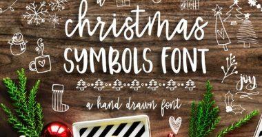 Hand-Drawn-Christmas-Symbol-Fonts-1