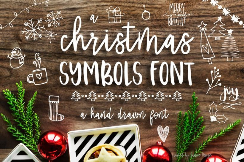 18+ Best Christmas Fonts for Greeting Cards