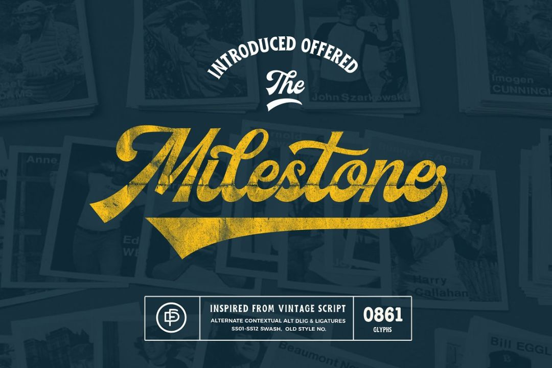 Milestone Hipster Font Collection