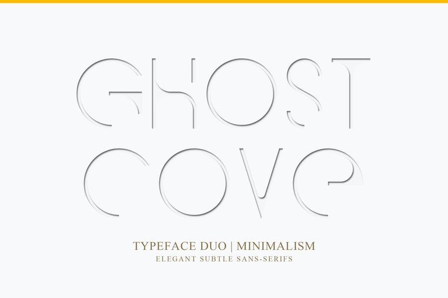 Minimalism Drop Shadow fonts