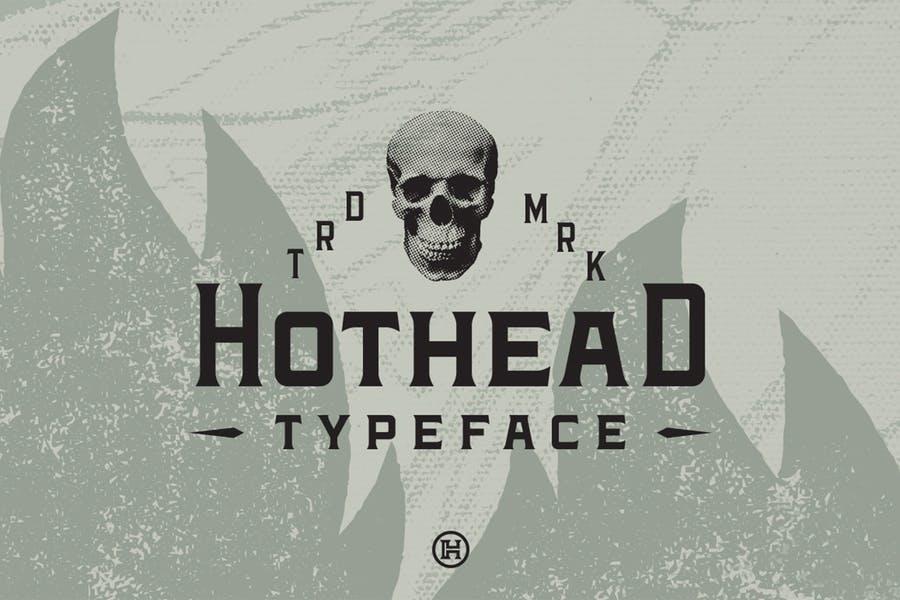 Modern American Western Fonts