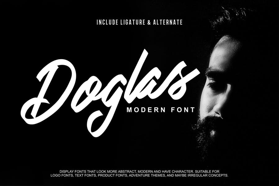 Modern Ribbon Styled Fonts