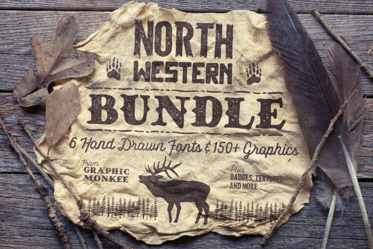 North Western Font Bundle