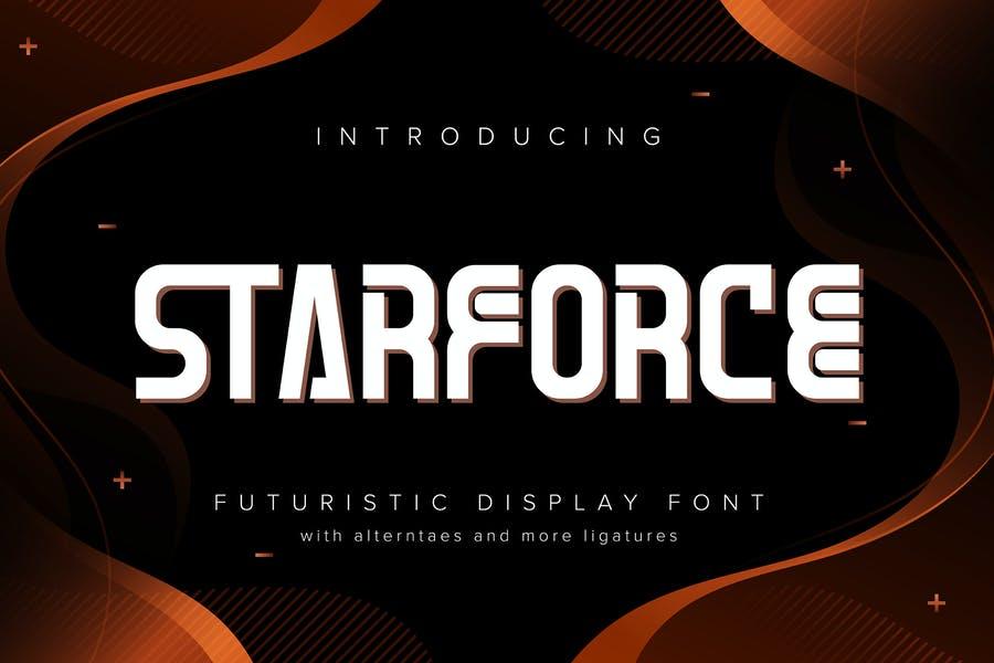 Professional Futuristic Fonts