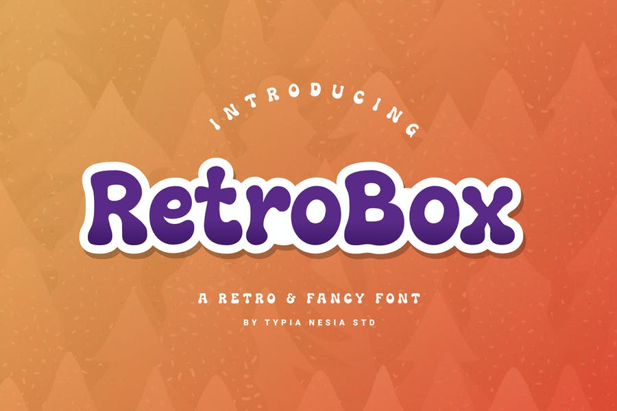 Retro Fancy Font for Branding