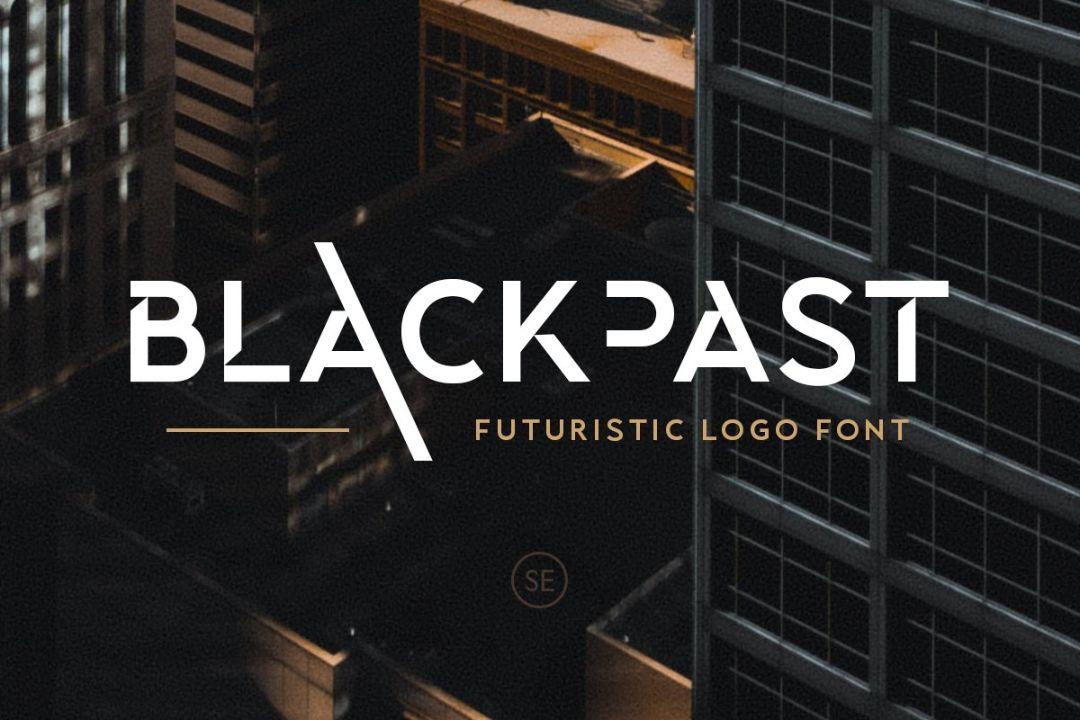 Robotic Font for Logo Design