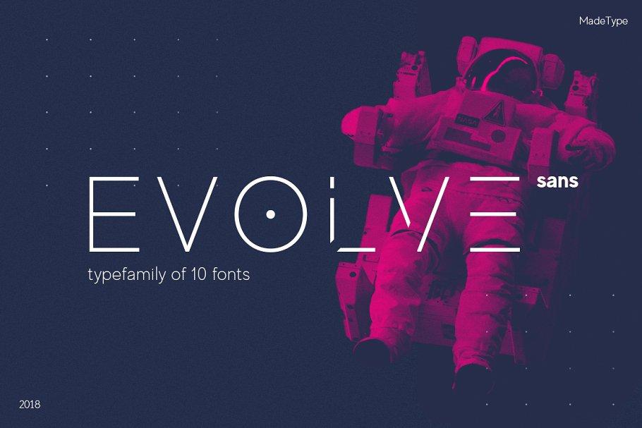 Trendy Futuristic Font Typeface