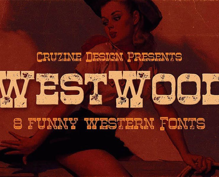 19+ Western Fonts TTF and OTF Download