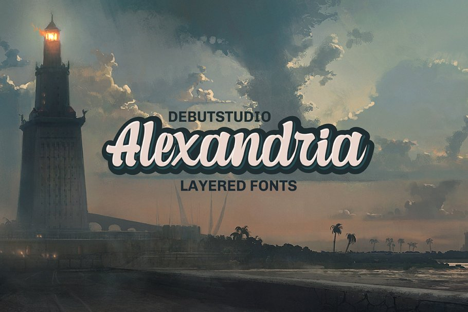 Well Layered Hipster Fonts