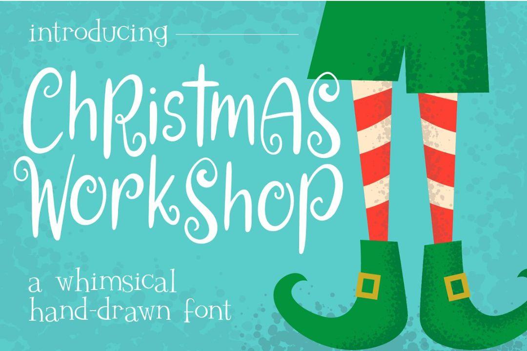 Whimsical Christmas font