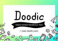 doodle fonts